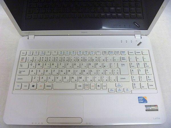 ノートパソコン NEC LaVie Windows10 Office2019 word excel メモリ 4GB(即決8GB) SSD(新品) 360GB Intel Core i5 PC-LS550CS6W b54_画像3