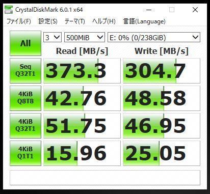 Transcend SSD SSD370 256GB 【中古】_画像4
