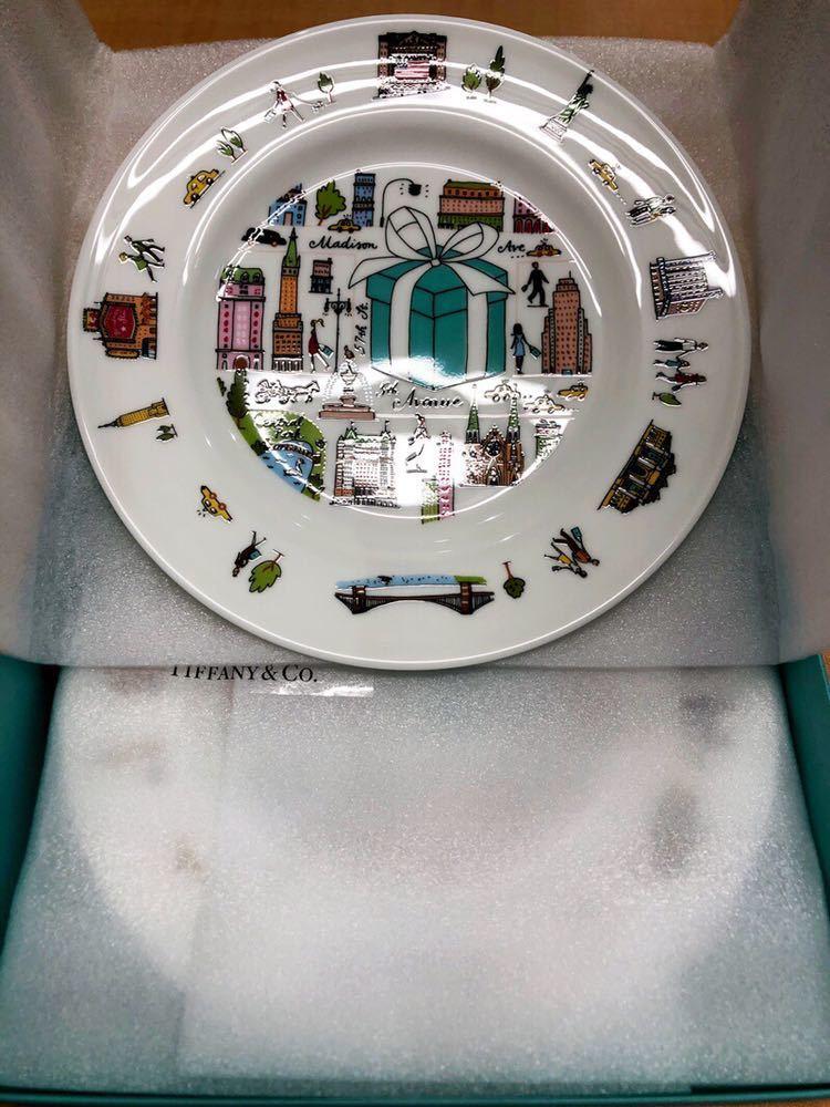 【1606】TIFFANY & Co. ティファニー 5th アベニュー プレート 2枚セット 皿 食器 未使用品