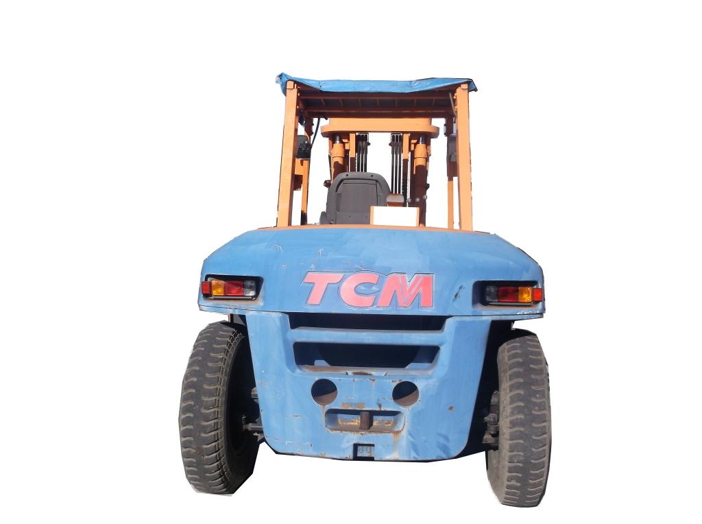 「(中古)TCM フォークリフト 8t/8000Kg FD80-9【5本レバー/低稼働時間】」の画像3