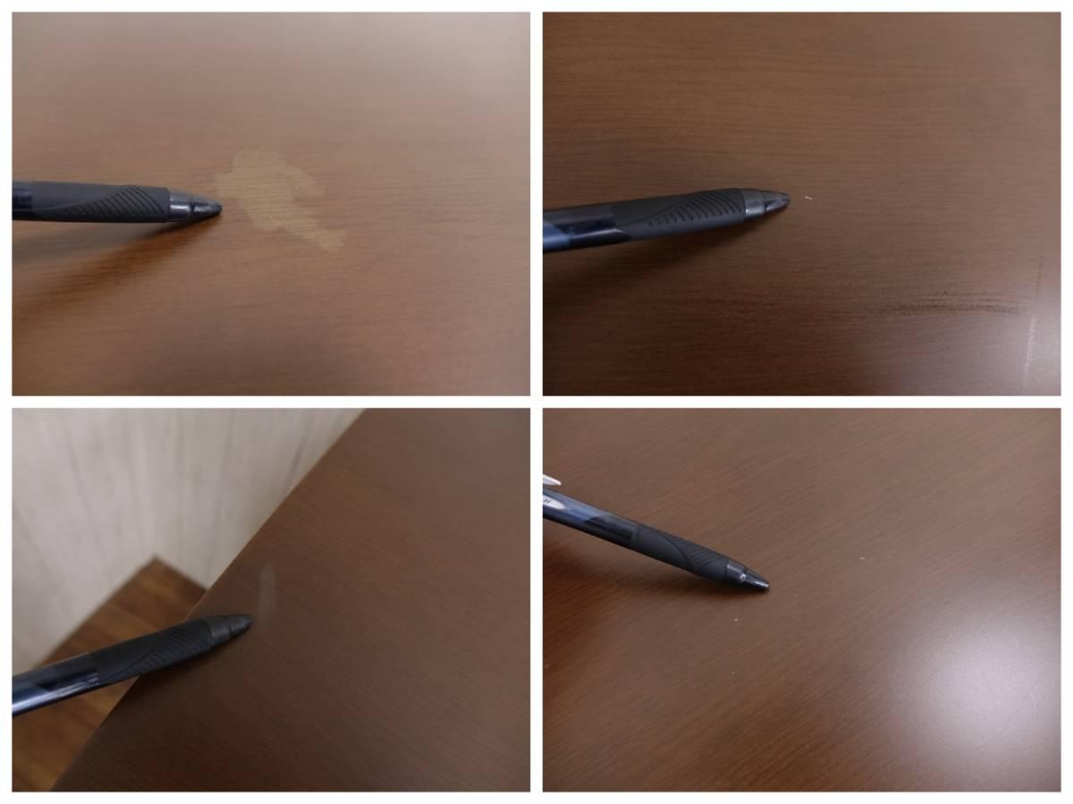 木製 ダークブラウン ◆ ダイニングテーブル [ 幅135cm 高さ69.5cm 奥行75cm ] 管理49381_画像8