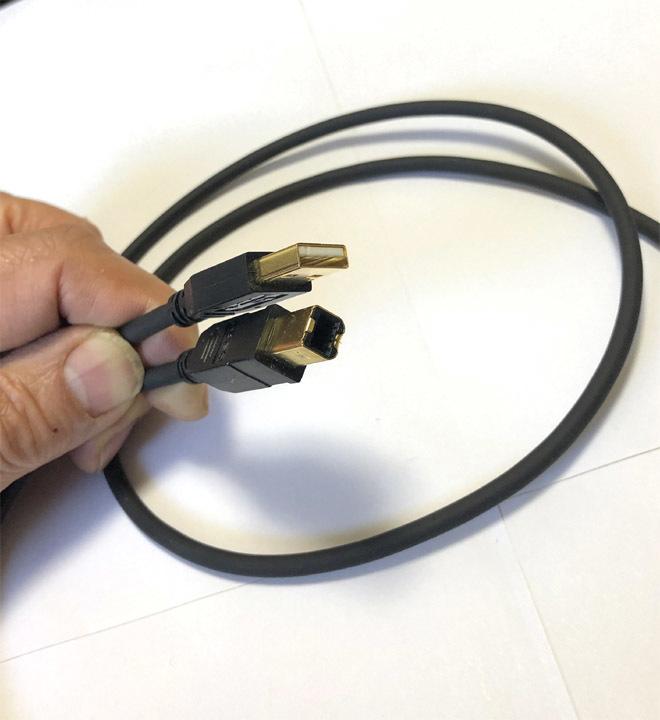 SAEC サエク PC TripleC USBケーブル SUS-380 1.2m 中古品_画像4