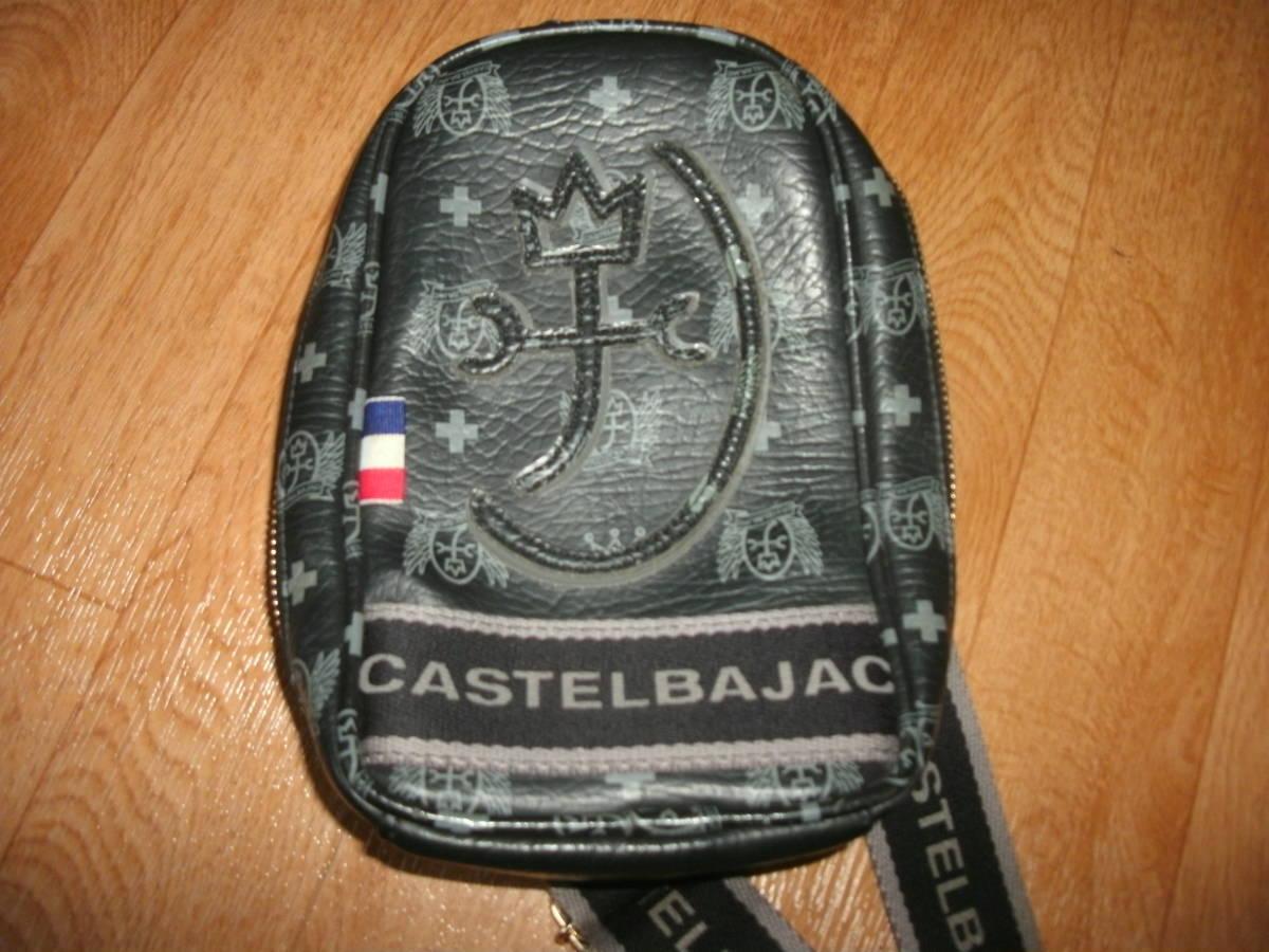 CASTELBAJAC カステルバジャック  ワンショルダー・ボディーバッグ 美中古 ゴルフシナコバスヌーピー