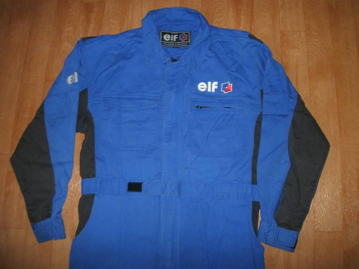 希少EFL レーシングスーツタイプ ビッグロゴオフィシャルメンテナンスメカニック作業ツナギ 美中古 サイズLL_画像5