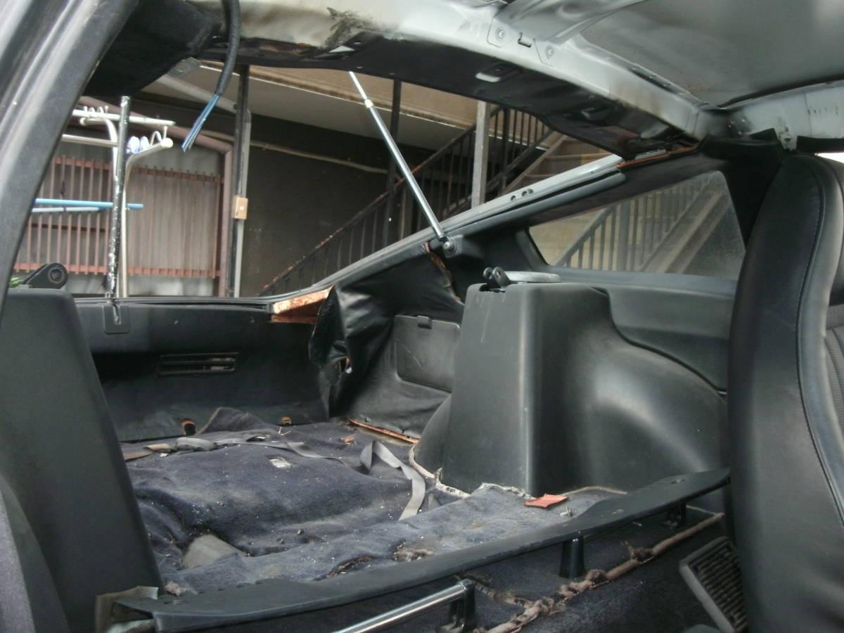 S130Z ノーマルルーフ 2シーター 丸車 書類なし エンジン・部品多数付き L型_画像6