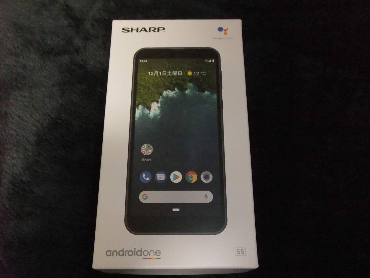 【新品未使用】SHARP Android One S5 SIMロック解除済 判定◯ ソフトバンク_画像3