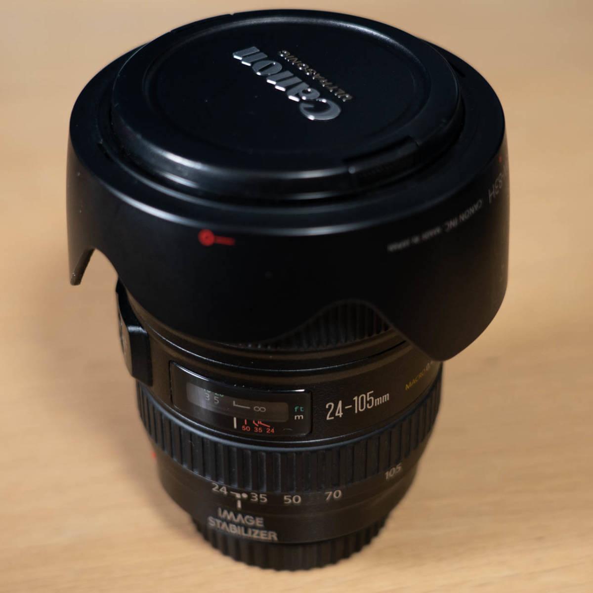 【中古】Canon EF 24-105mm F4L IS USM ジャンク?