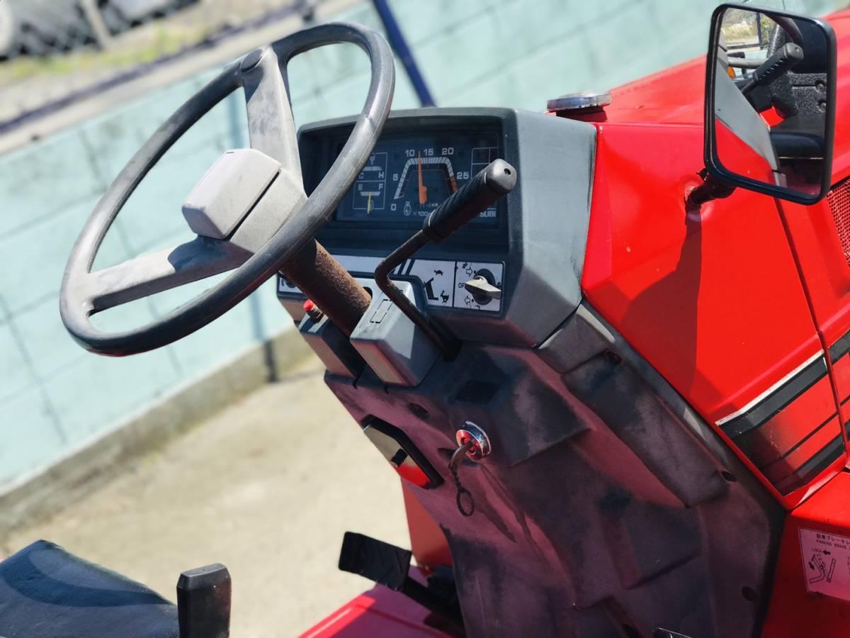 三菱 トラクター  MT14   348時間  ディーゼル 4WD 14馬力  ロータリ付き 全国陸送可 _画像3