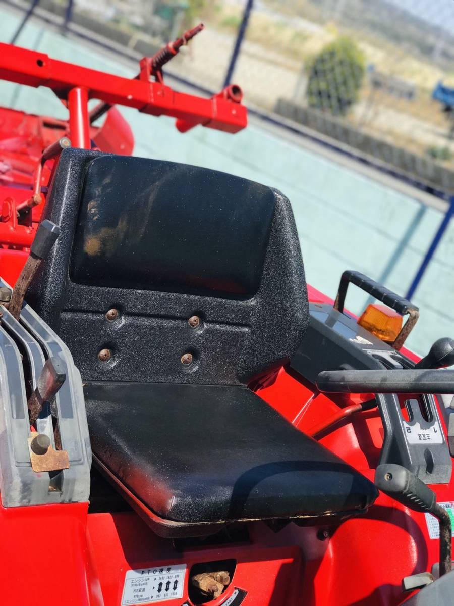 三菱 トラクター  MT14   348時間  ディーゼル 4WD 14馬力  ロータリ付き 全国陸送可 _画像5