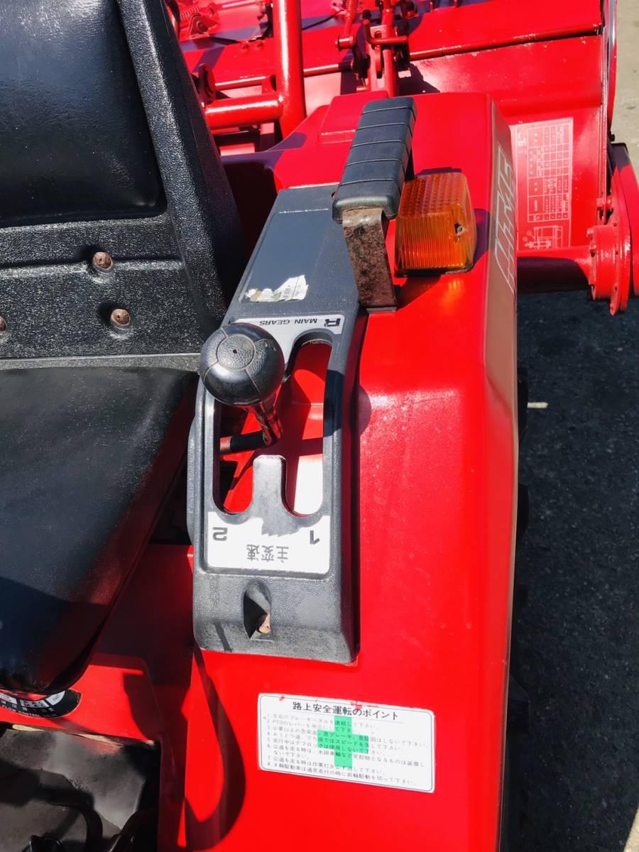三菱 トラクター  MT14   348時間  ディーゼル 4WD 14馬力  ロータリ付き 全国陸送可 _画像4