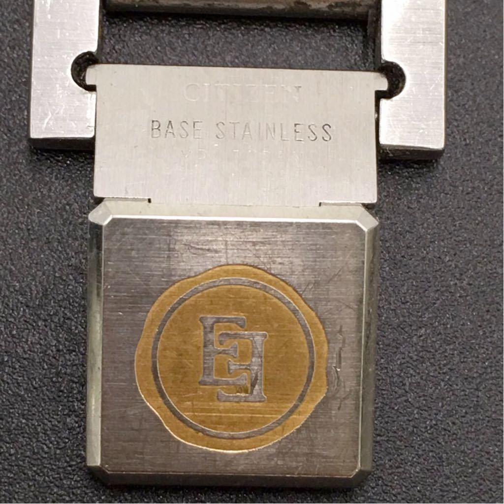 CITIZEN シチズン EXCEED エクシード クォーツ時計 3針 ゴールド&シルバー色 中古 /S158_画像4