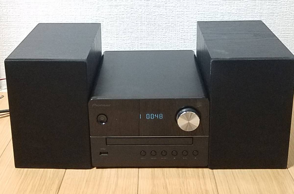 ☆CD視聴確認OK☆ パイオニア Pioneer X-EM26 CDミニコンポ S-EM6 ブラック コンポ CDミニコンポ