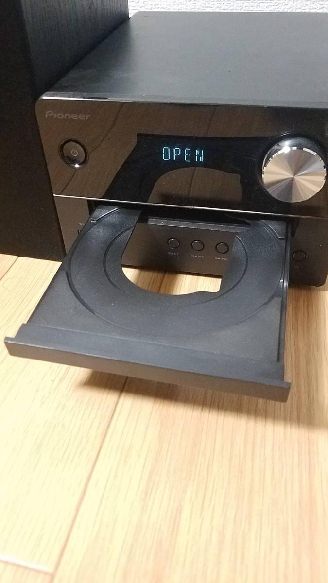 ☆CD視聴確認OK☆ パイオニア Pioneer X-EM26 CDミニコンポ S-EM6 ブラック コンポ CDミニコンポ_画像4