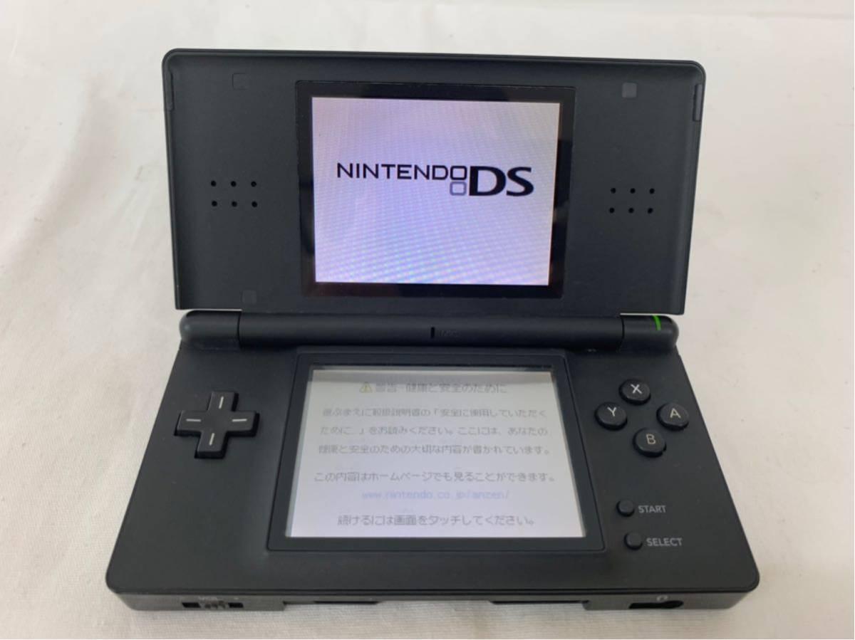Nintendo 任天堂 DS lite 本体USG-001DS-083U 3DSマリオカートホイール DSソフト11本/合計13本セット_画像2