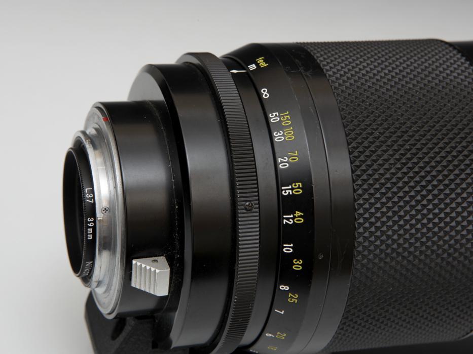 Nikon ニコン Reflex NIKKOL-C 500mm F8 Late Version ミラーレンズ フード付 《ジャンク》望遠 銀塩 一眼レフ フィルム b5184k_画像6