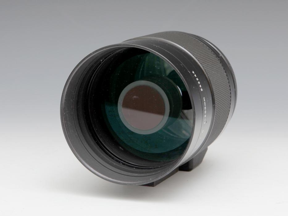Nikon ニコン Reflex NIKKOL-C 500mm F8 Late Version ミラーレンズ フード付 《ジャンク》望遠 銀塩 一眼レフ フィルム b5184k_画像2