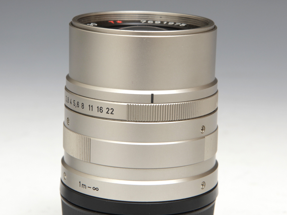 CONTAX コンタックス Carl Zeiss Sonnar T* 90mm F2.8 G用 メタルフード付 《ジャンク》望遠 銀塩 フィルム b5189k_画像7