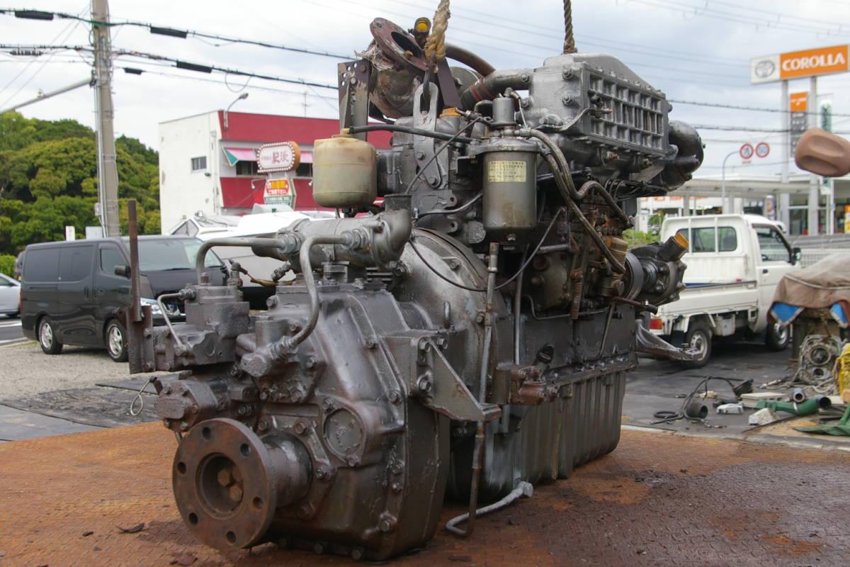 ヤンマーディーゼルエンジン 6PH- HT_画像4
