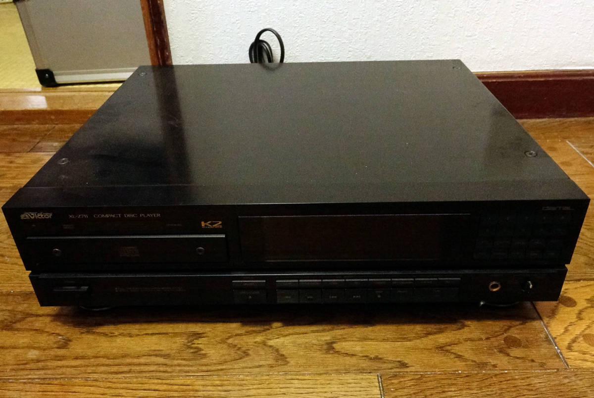 Victor XL-Z711 * ビクター CDプレイヤー 開閉不可ジャンク