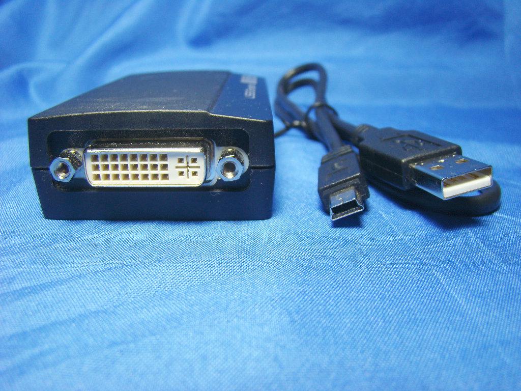 ■USB外付グラフィックアダプター IO-DATA USB-RGB/D2 マルチディスプレイ構築に■_画像3