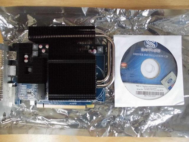 SAPPHIRE (サファイア) ULTIMATE HD6670 1G GDDR5 PCI-E HDMI/DVI-I/DP BOX 型番 11192-06-20G ファンレスです。_画像3