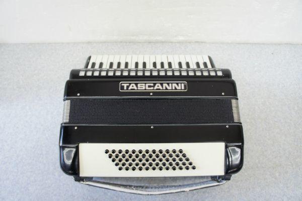 A0841140R] TASCANNI /タスカーニ アコーディオン 60 34鍵 型番不明