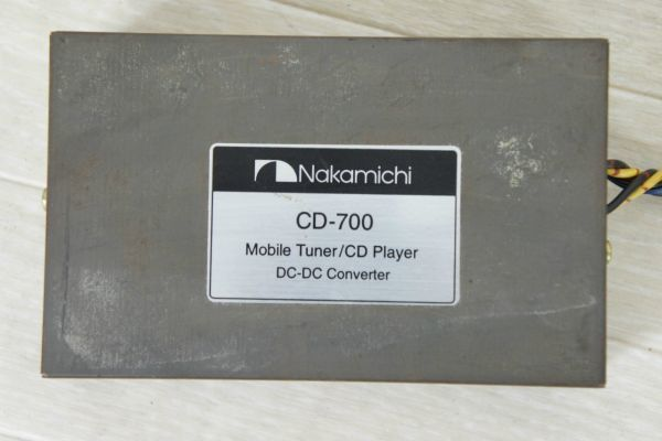 A096508S】Nakamichi ナカミチ CD-700 Mobile Tuner/CD Player_画像4