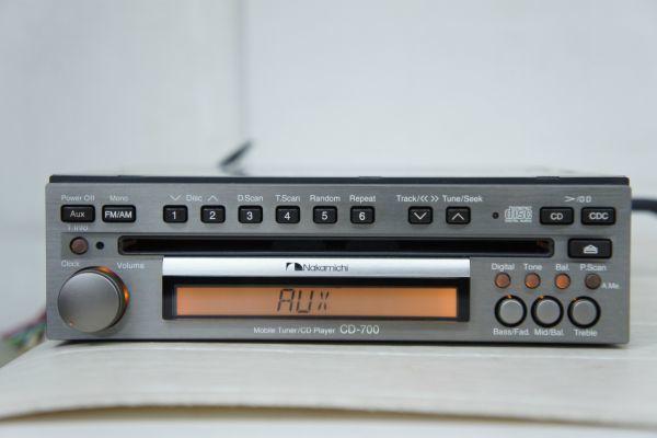A096508S】Nakamichi ナカミチ CD-700 Mobile Tuner/CD Player_画像3