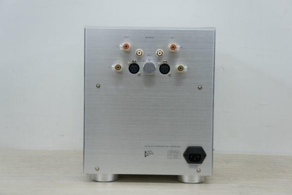 A100314S】美品 Audio Design オーディオデザイン DCPW-240 ステレオパワーアンプ _画像6