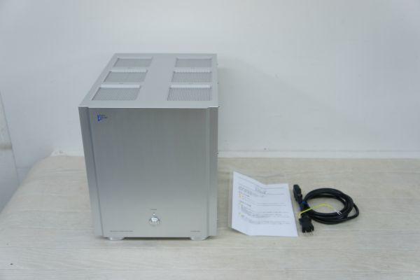A100314S】美品 Audio Design オーディオデザイン DCPW-240 ステレオパワーアンプ