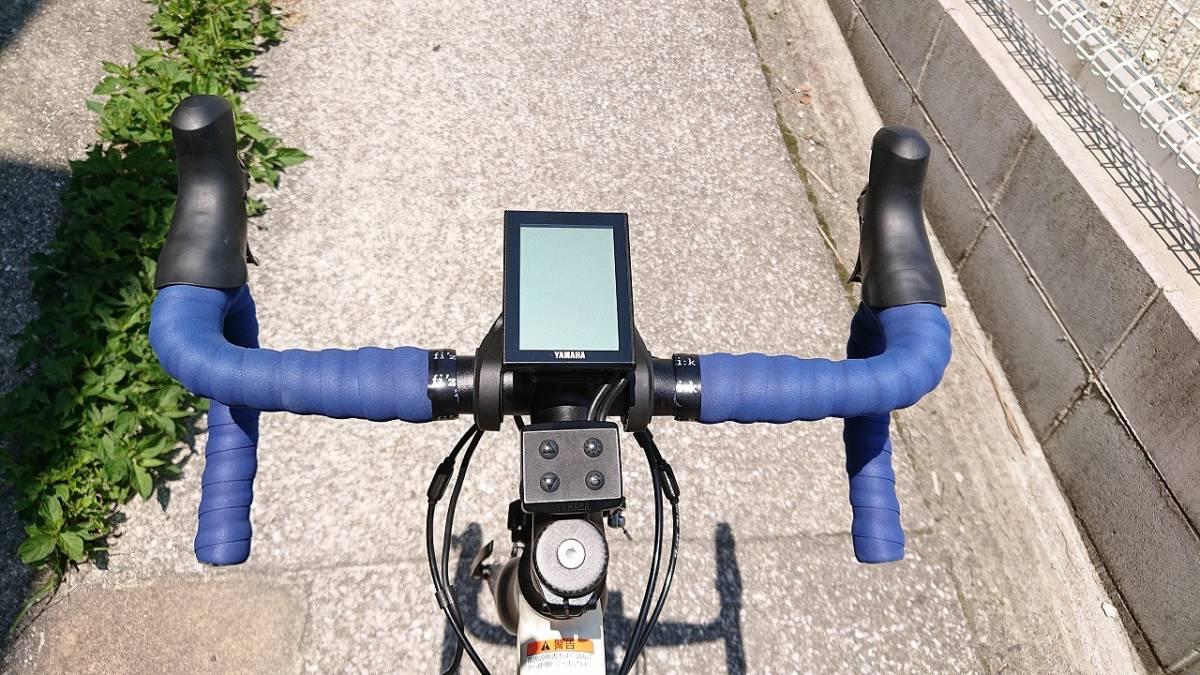 新品! 未使用車! YAMAHA ヤマハ YPJ1-R 700c 電動 ロードバイク アルミフレーム 22段変速 Mサイズ _画像3