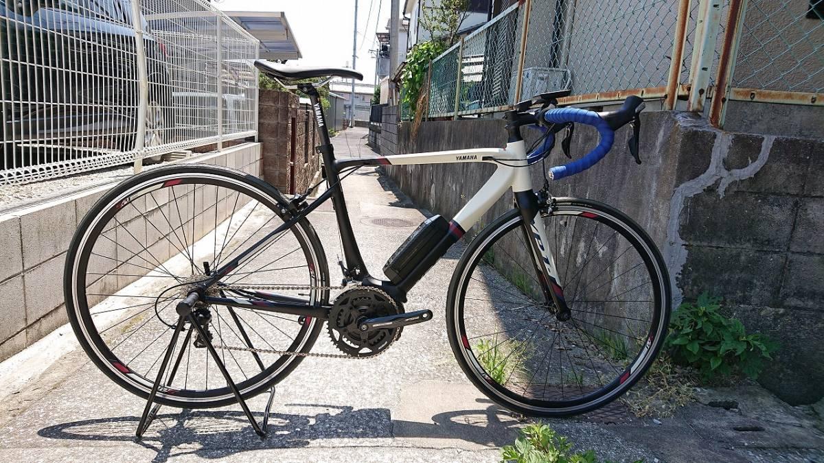 新品! 未使用車! YAMAHA ヤマハ YPJ1-R 700c 電動 ロードバイク アルミフレーム 22段変速 Mサイズ