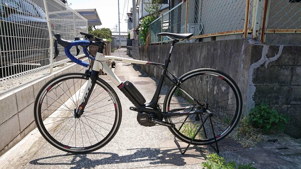 新品! 未使用車! YAMAHA ヤマハ YPJ1-R 700c 電動 ロードバイク アルミフレーム 22段変速 Mサイズ _画像2