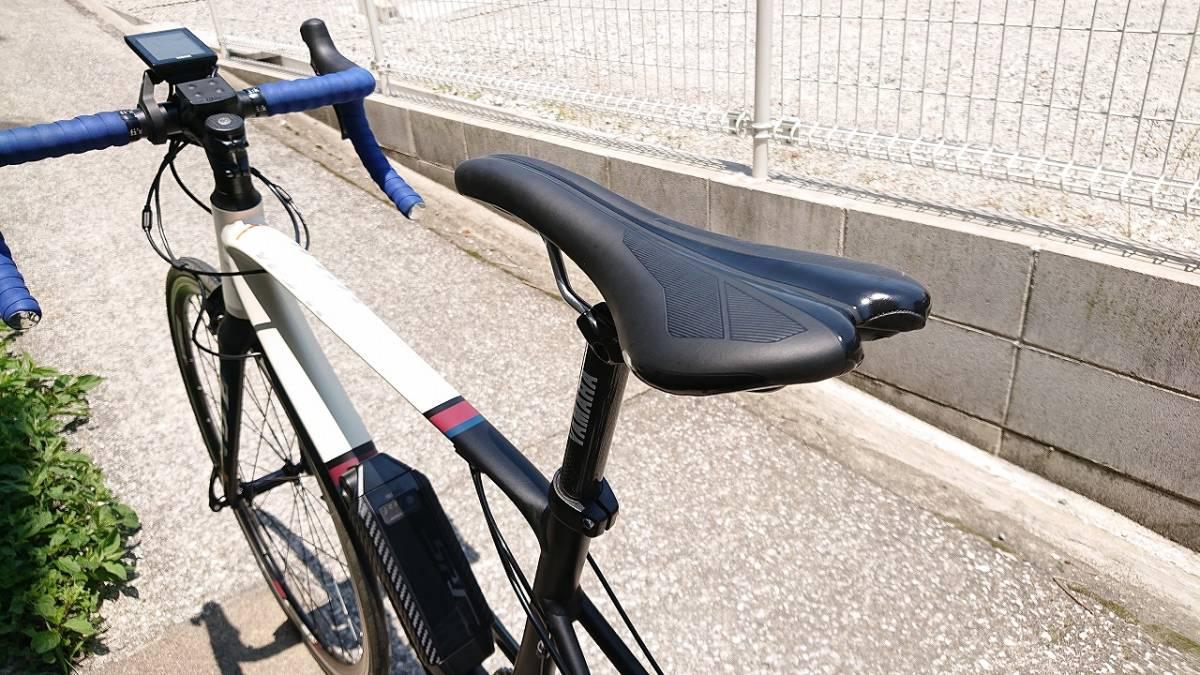新品! 未使用車! YAMAHA ヤマハ YPJ1-R 700c 電動 ロードバイク アルミフレーム 22段変速 Mサイズ _画像7