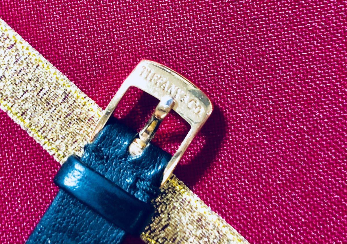 1円スタート【パーツ全て純正】◆14K無垢の美しさに一目惚れ◆ティファニー Tiffany & Co 腕時計 レディース 動作良好 ★アフターフォロー_画像6