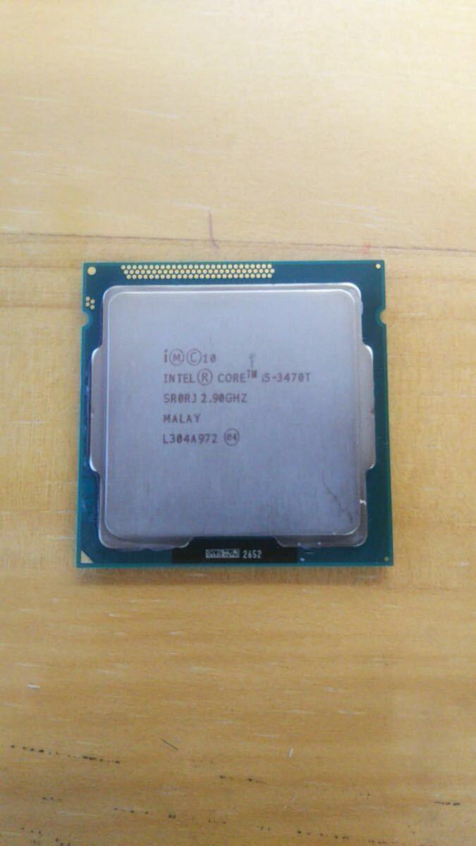 1円スタート intel CORE i5 3470T 1155 2.90GHz SR0RJ
