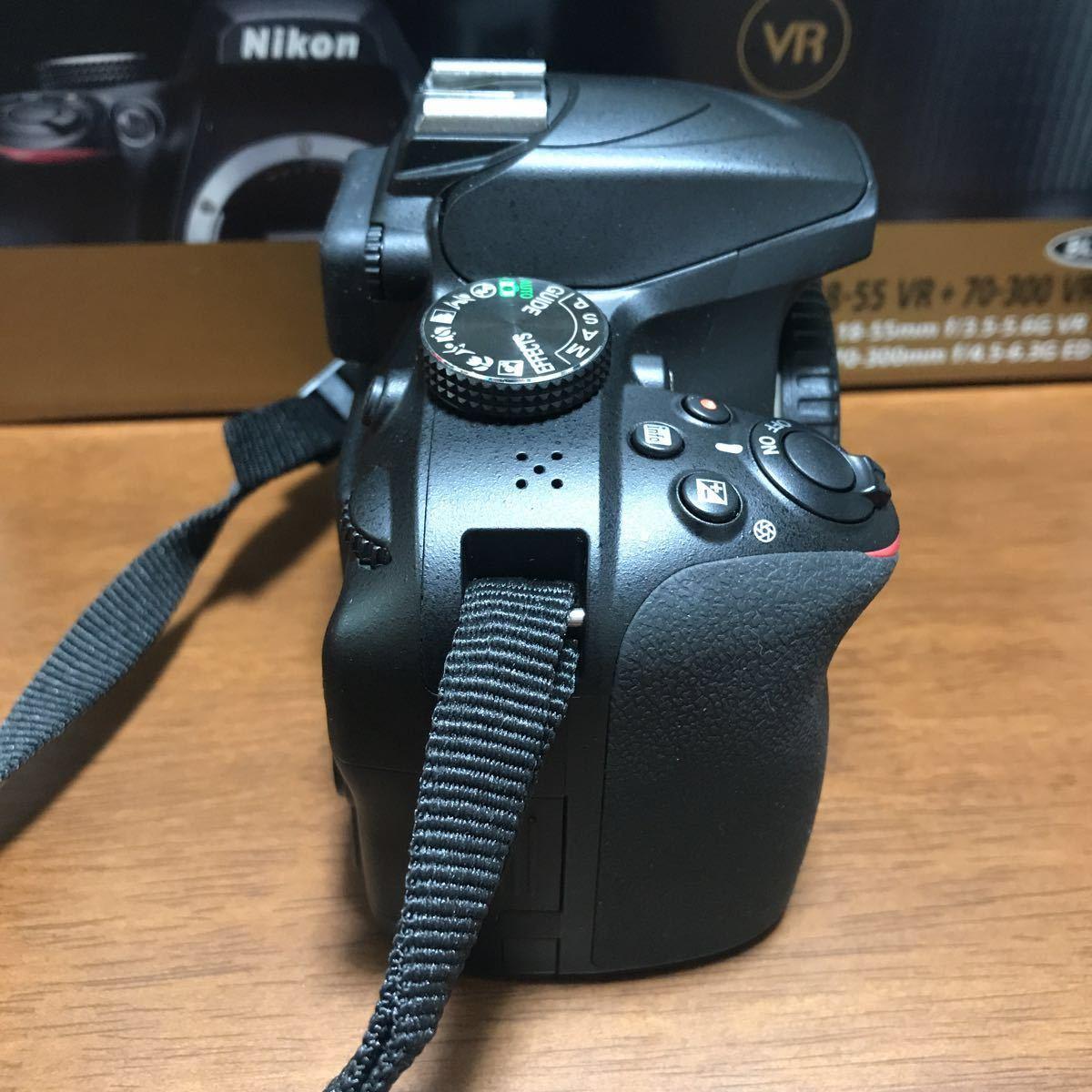 【中古】ニコン NIKON D3400 デジタル一眼レフカメラ ボディ APSーC オマケ ケース ライト_画像5