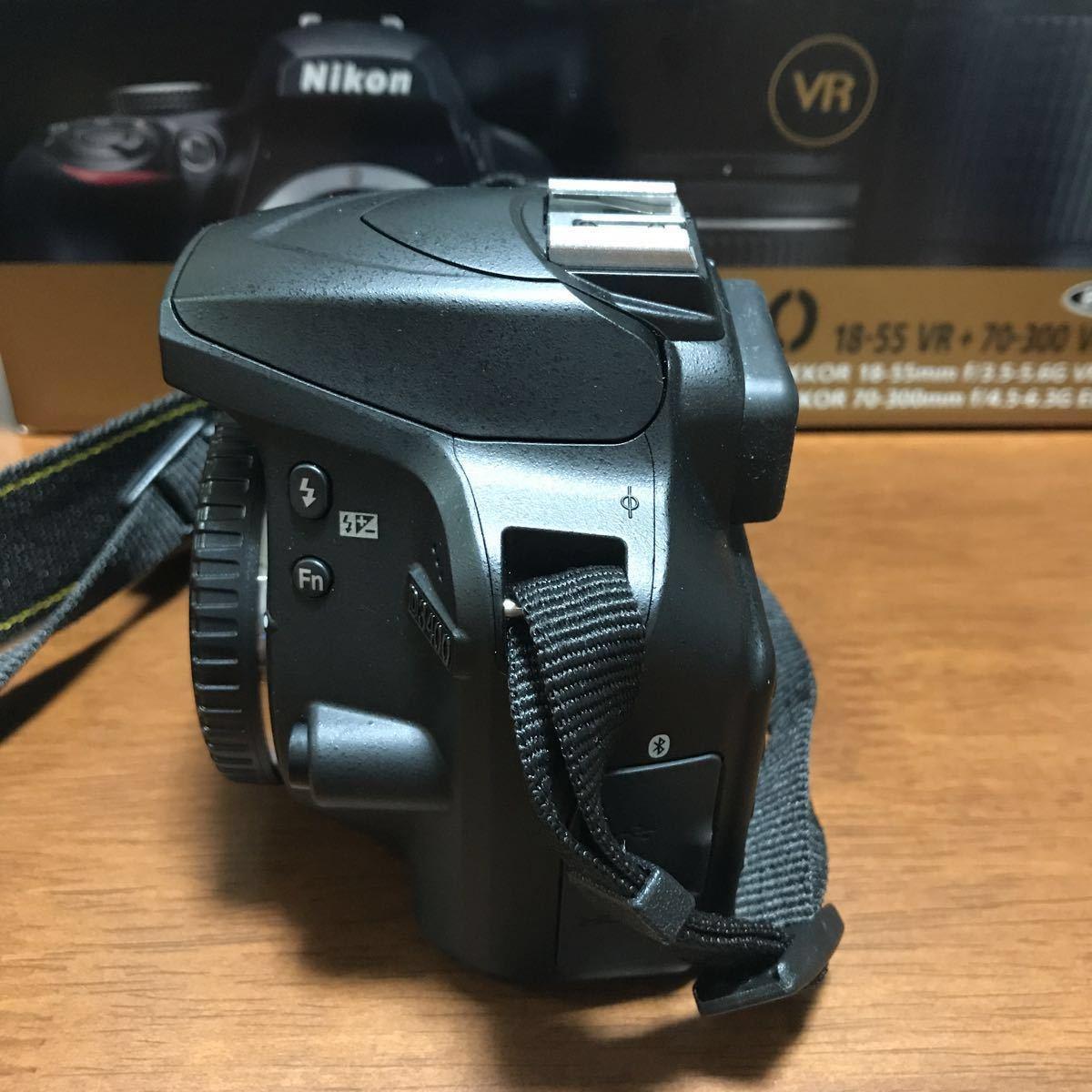 【中古】ニコン NIKON D3400 デジタル一眼レフカメラ ボディ APSーC オマケ ケース ライト_画像7