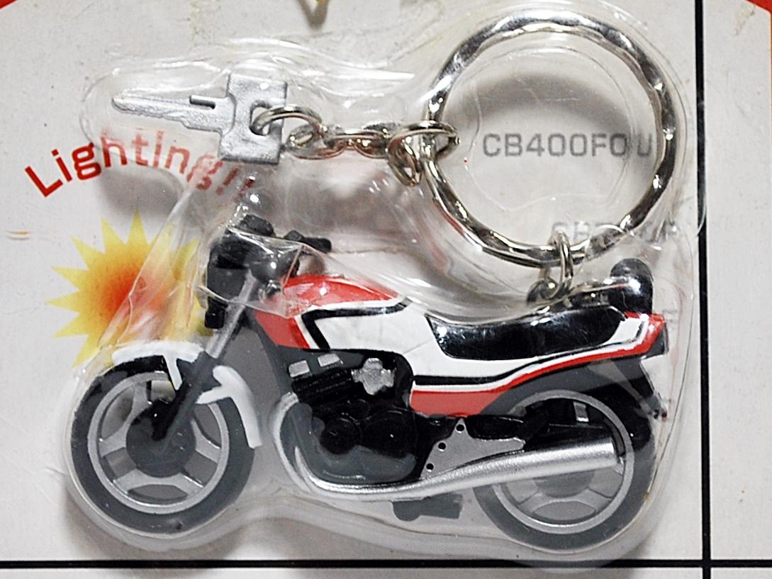 バンプレスト 2001年★HONDAバイク イグニッションキーライト点灯キーホルダー★未使用_画像2