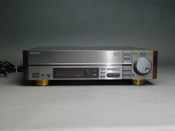 SONY ソニー マルチディスクプレーヤー MDP-911 CD/CDV/ LDプレーヤー 通電確認済 g1905010_画像2