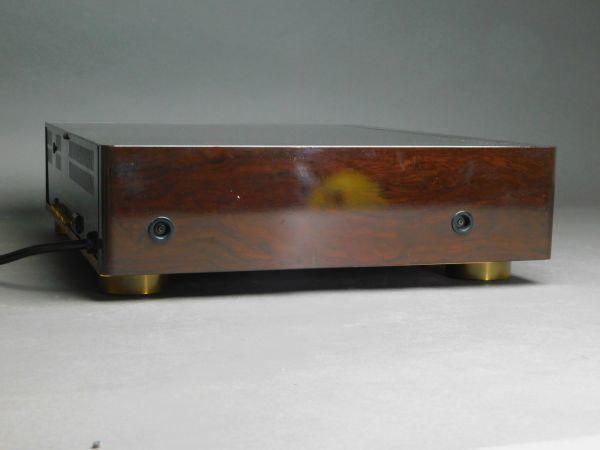 SONY ソニー マルチディスクプレーヤー MDP-911 CD/CDV/ LDプレーヤー 通電確認済 g1905010_画像3