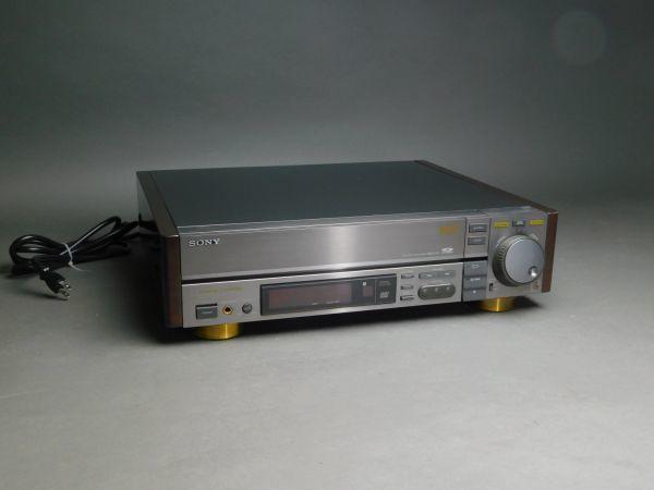 SONY ソニー マルチディスクプレーヤー MDP-911 CD/CDV/ LDプレーヤー 通電確認済 g1905010_画像1