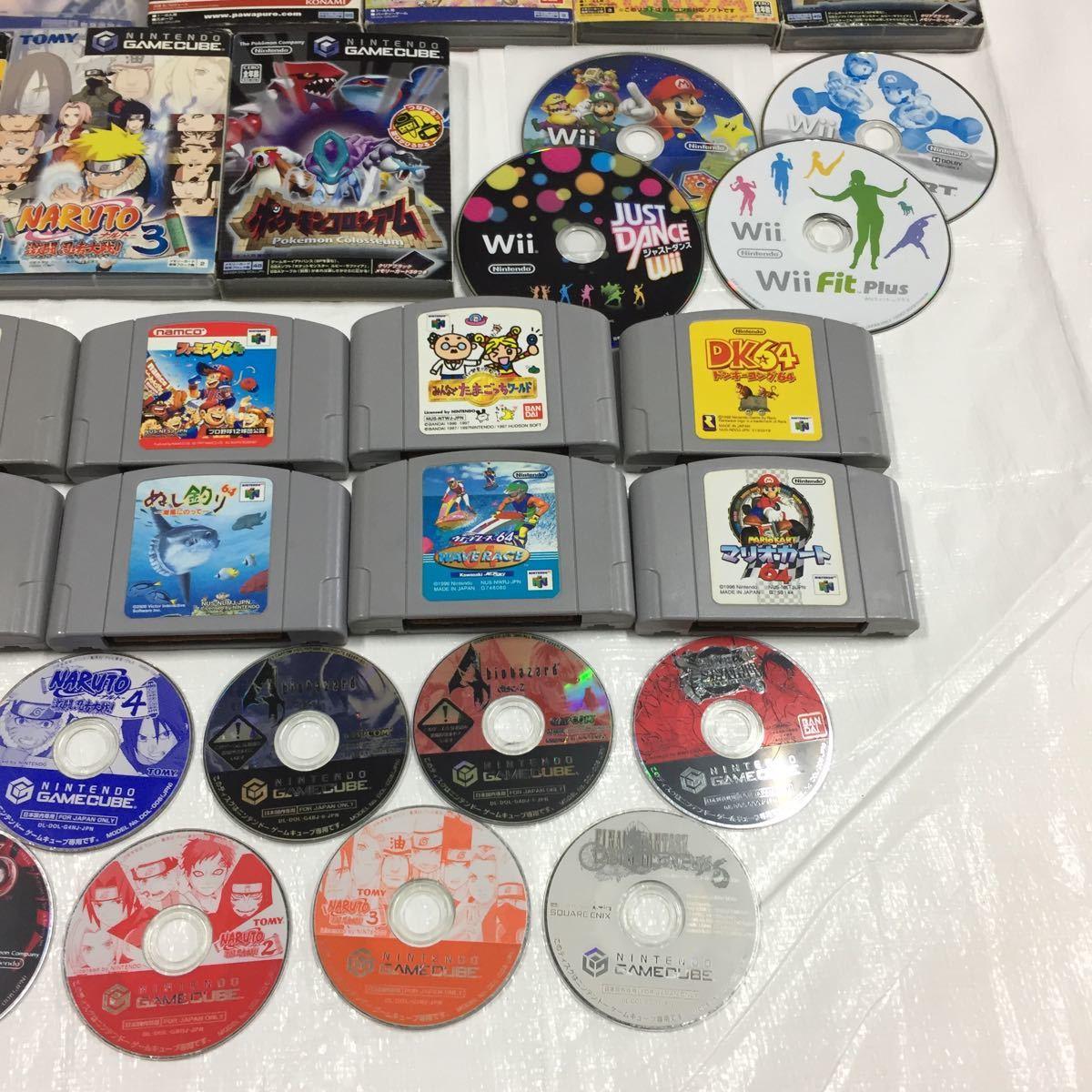 【ジャンク】Wii Wiiu ゲームボーイ ニンテンドー64 ゲームキューブ スイッチ ニンテンドーゲームソフトまとめ売り ソフト大量セット_画像4
