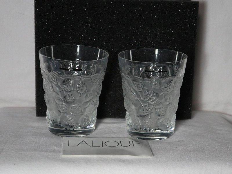 LALIQUE(ラリック)ロックグラス2個セット_画像2
