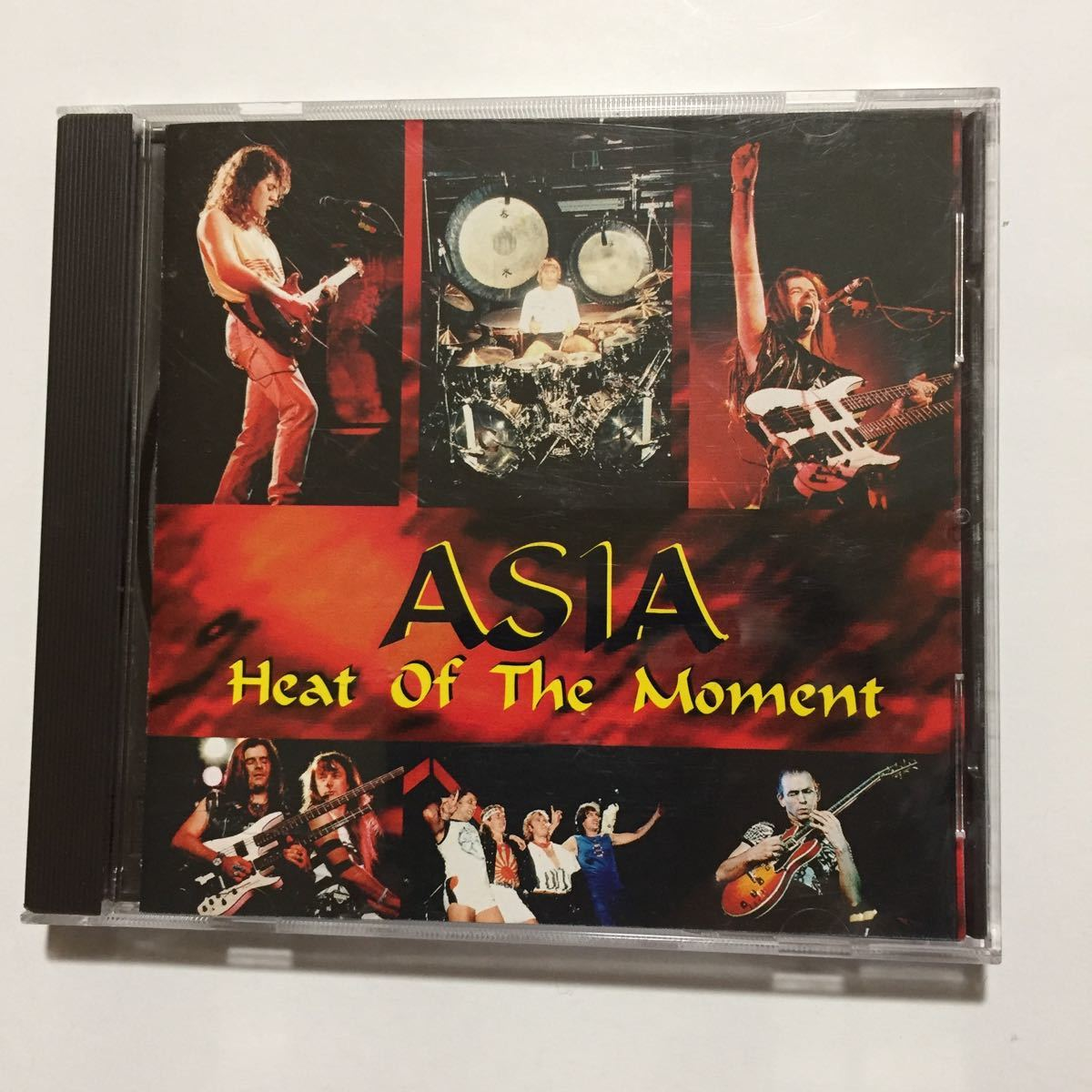 ASIA エイジア Hrat Of The Moment LIVE ライヴ Arena Records Don't Cry 並行輸入盤 全14曲収録 John Wetton Geoff Downes _画像2