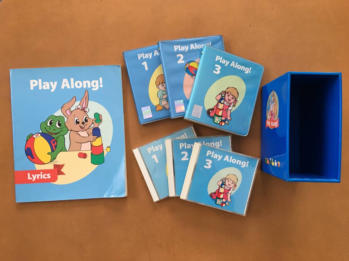 DWE ディズニー ワールドファミリー World family 英語システム プレイアロング Play Along DVD/CD3巻セット テキスト付き