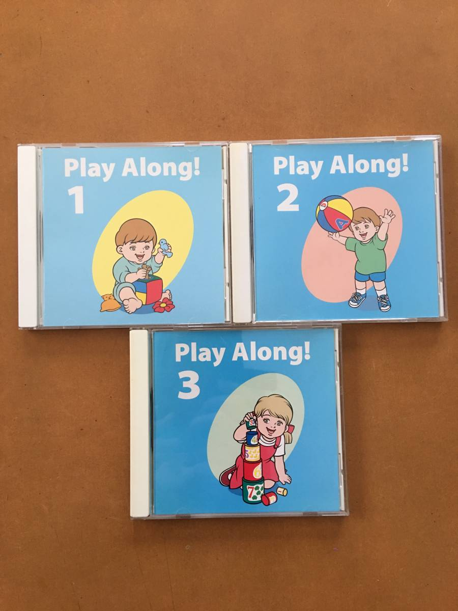 DWE ディズニー ワールドファミリー World family 英語システム プレイアロング Play Along DVD/CD3巻セット テキスト付き_画像4
