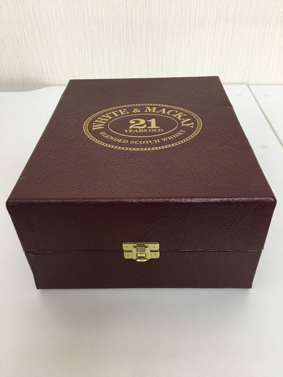 【未開栓】 WHYTE & MACKAY (ホワイト & マッカイ) 21年 750ml 43% 化粧箱有 スコッチ ウイスキー_画像6