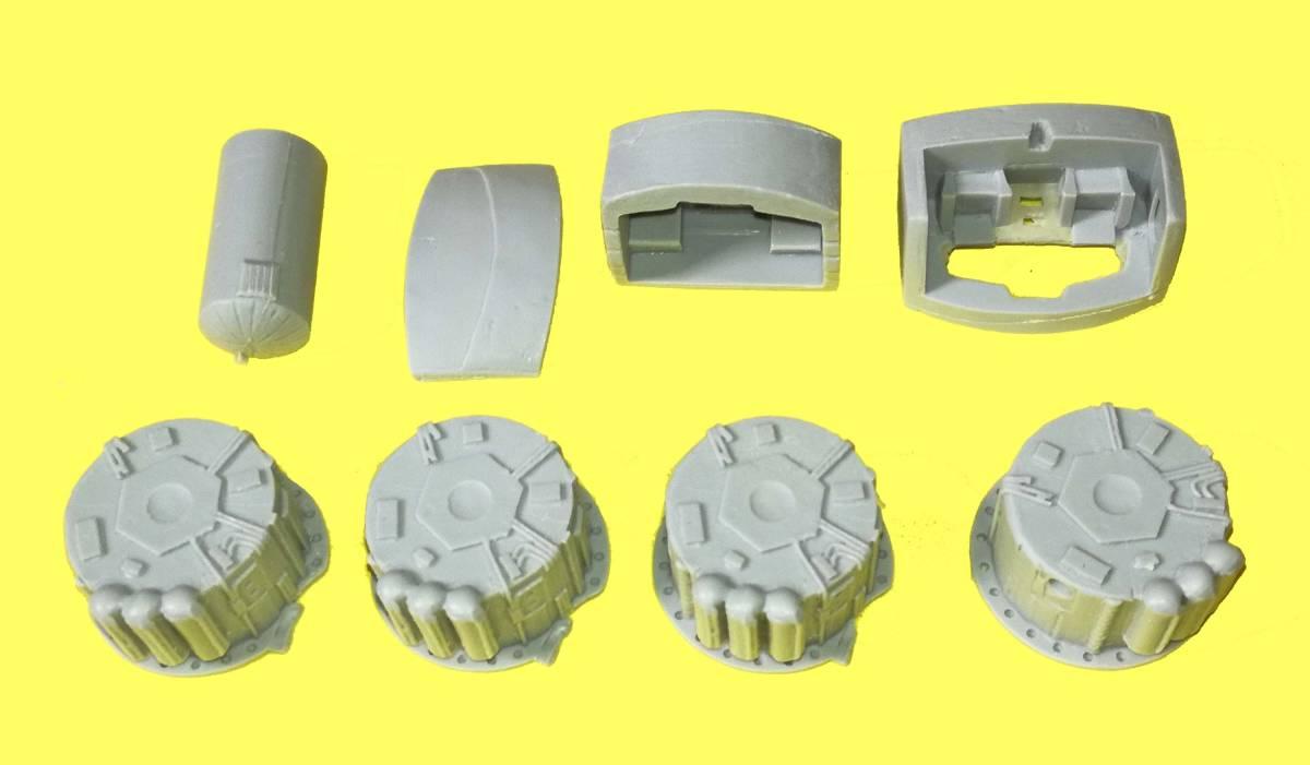 2001年宇宙の旅 ARIES 1-B 1/144 (Stargazer Models)レジンキット_画像3