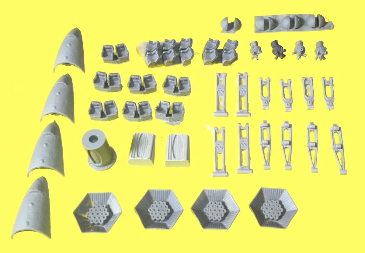 2001年宇宙の旅 ARIES 1-B 1/144 (Stargazer Models)レジンキット_画像4